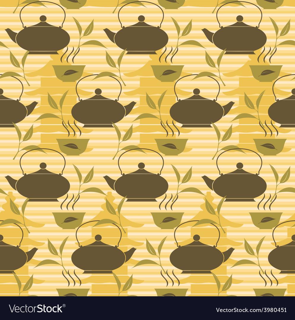 Tea background vector | Price: 1 Credit (USD $1)