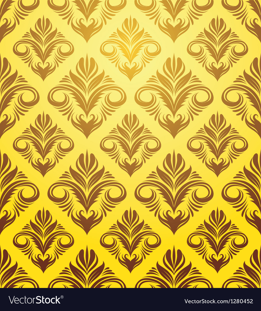 Gold yellow pattern vector | Price: 1 Credit (USD $1)
