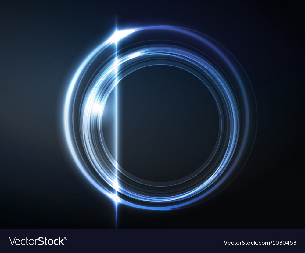 Blue circular frame vector | Price: 1 Credit (USD $1)