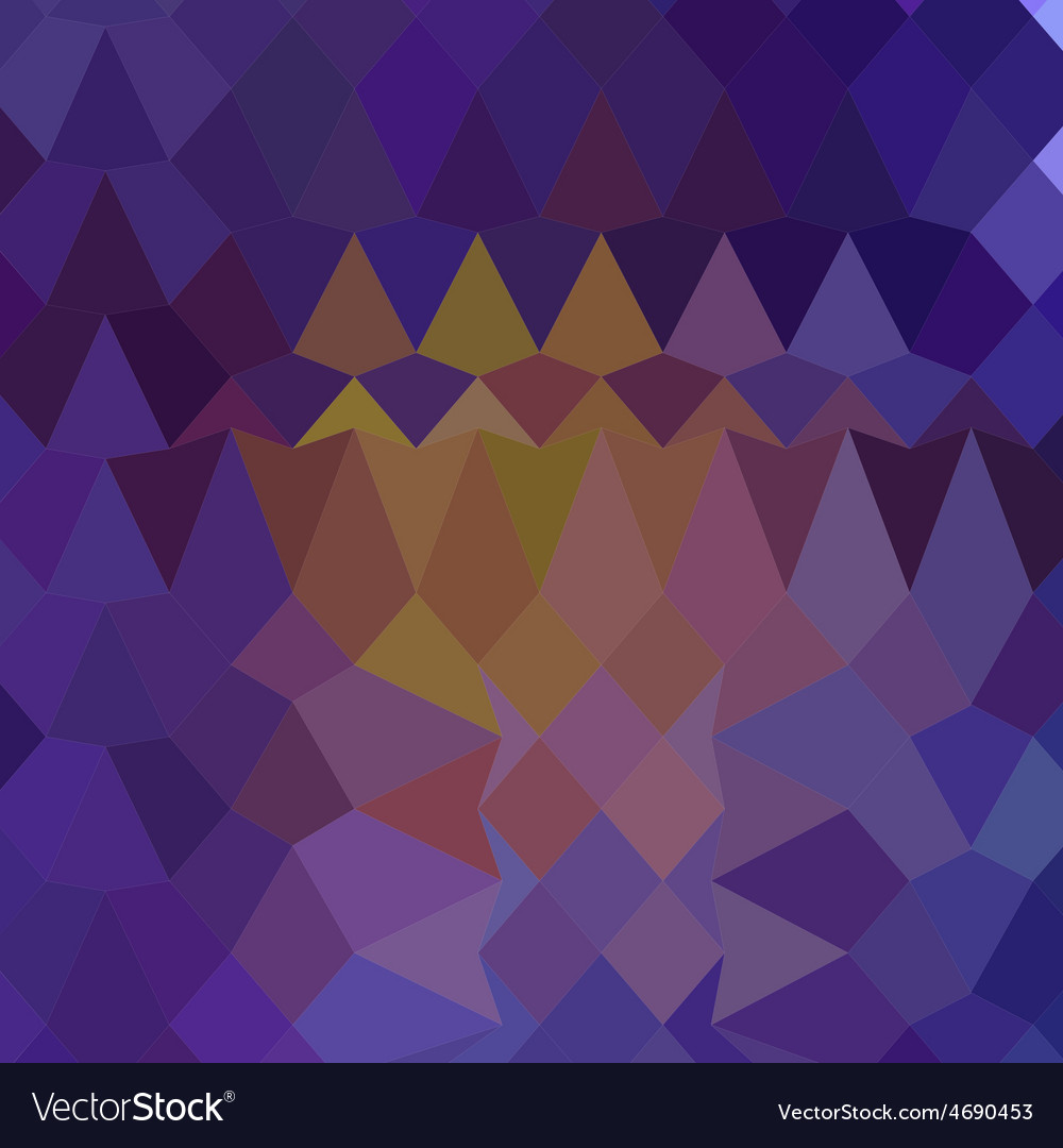 Dark violet abstract low polygon background vector | Price: 1 Credit (USD $1)