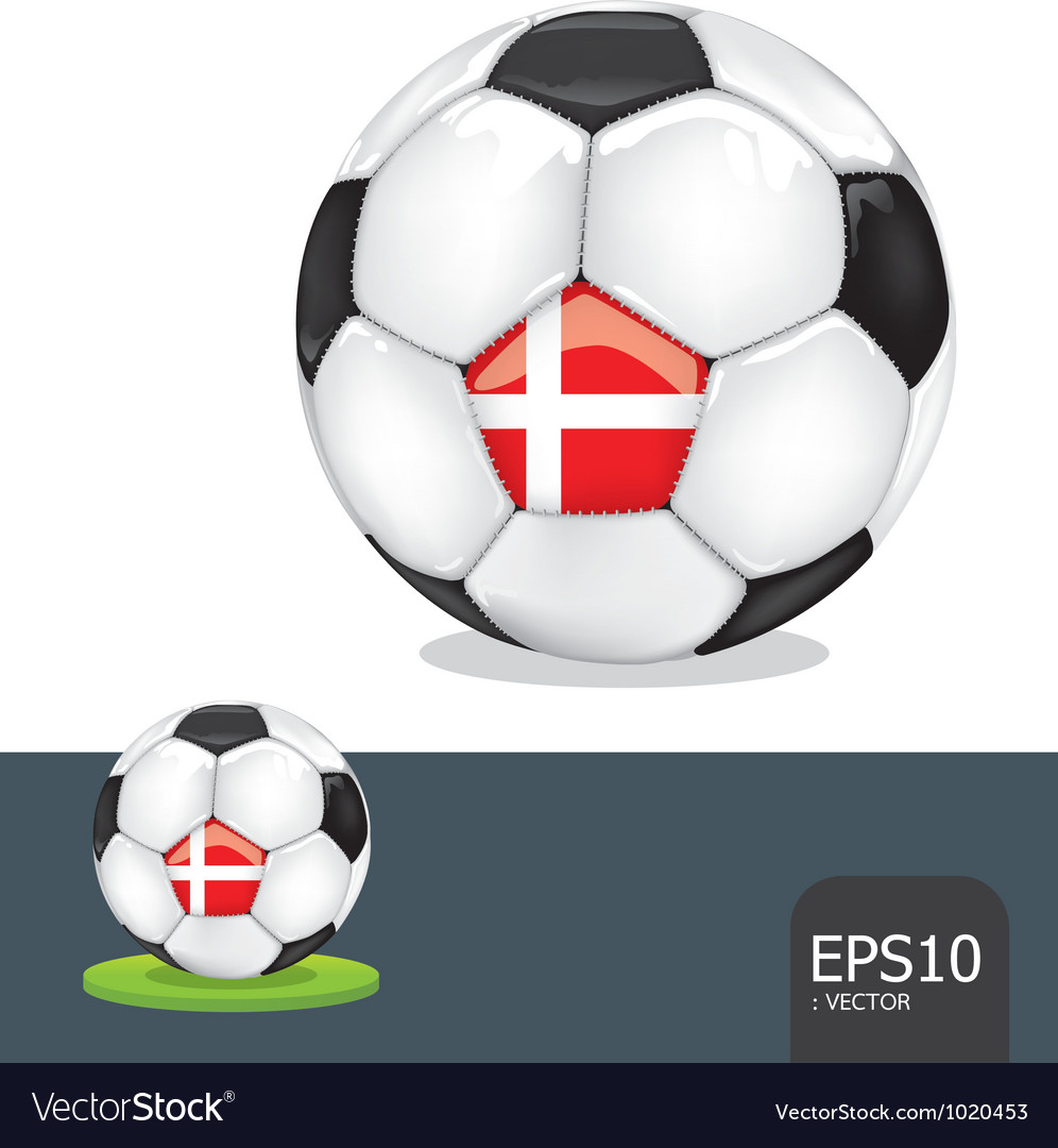 Soccer euro ball vector | Price: 1 Credit (USD $1)