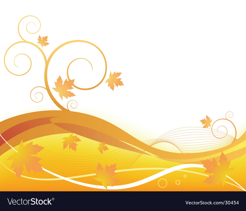 Autumn concept background vector | Price: 1 Credit (USD $1)