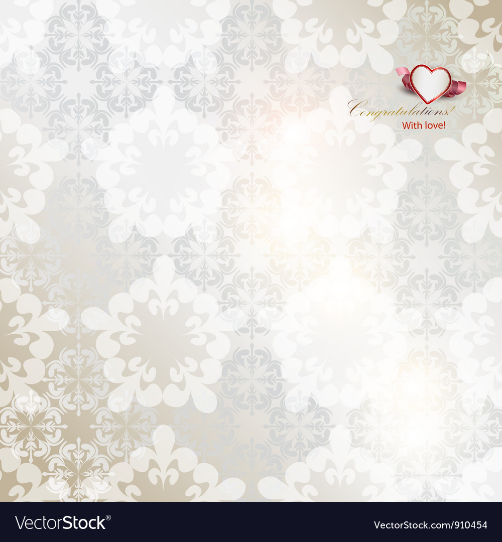 Elegant background with white repetitive elements vector | Price: 1 Credit (USD $1)