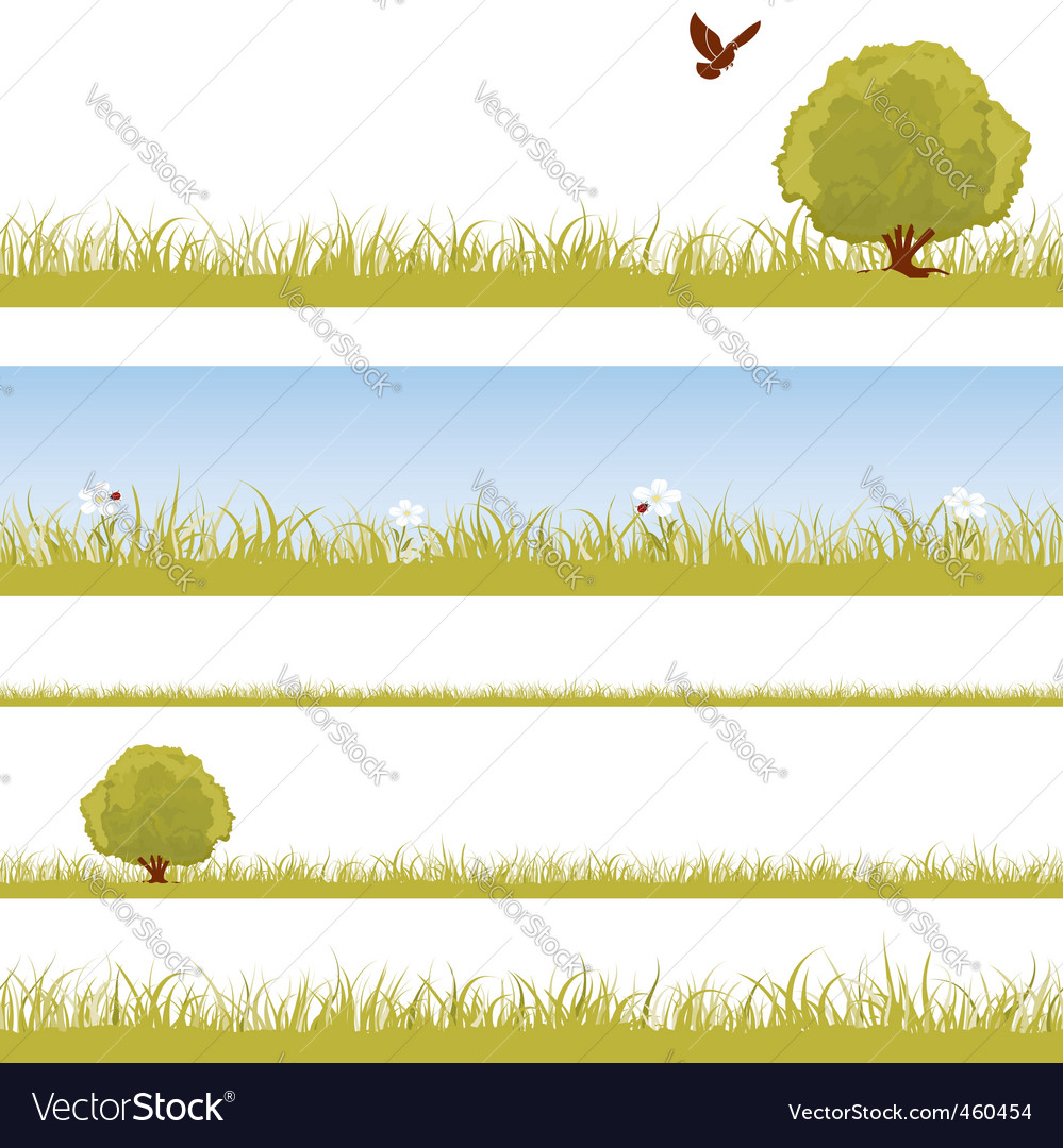 Nature seamless background vector | Price: 1 Credit (USD $1)