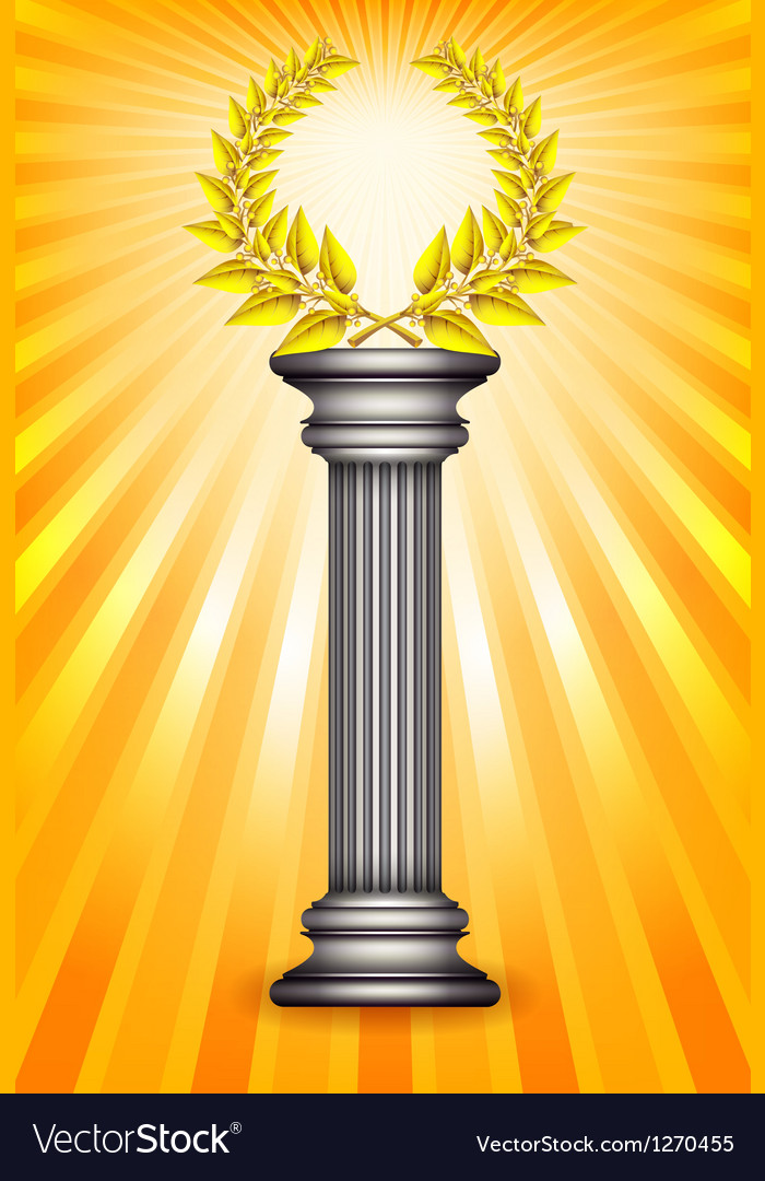 Award column vector | Price: 1 Credit (USD $1)