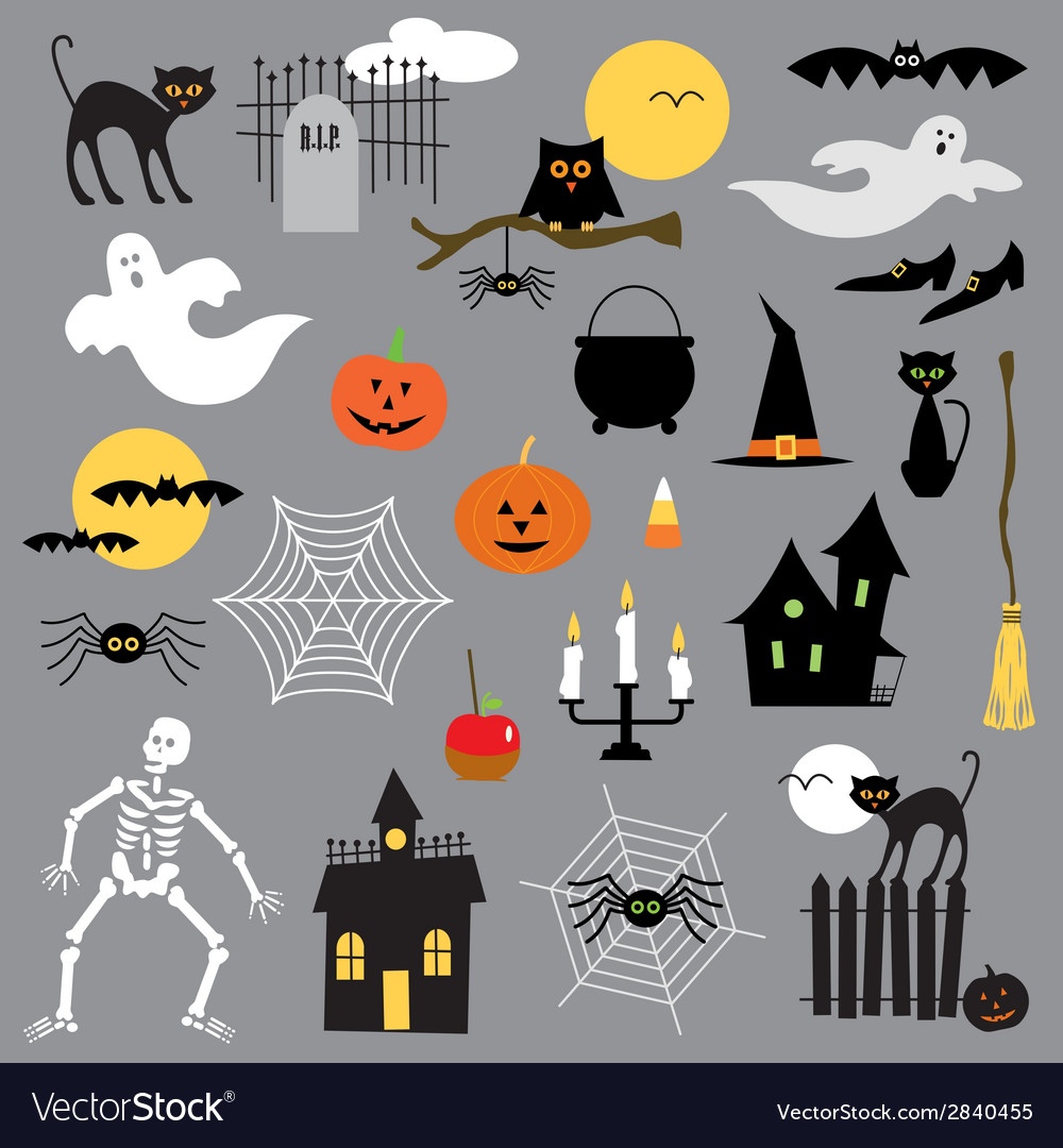 Halloween clipart vector | Price: 1 Credit (USD $1)