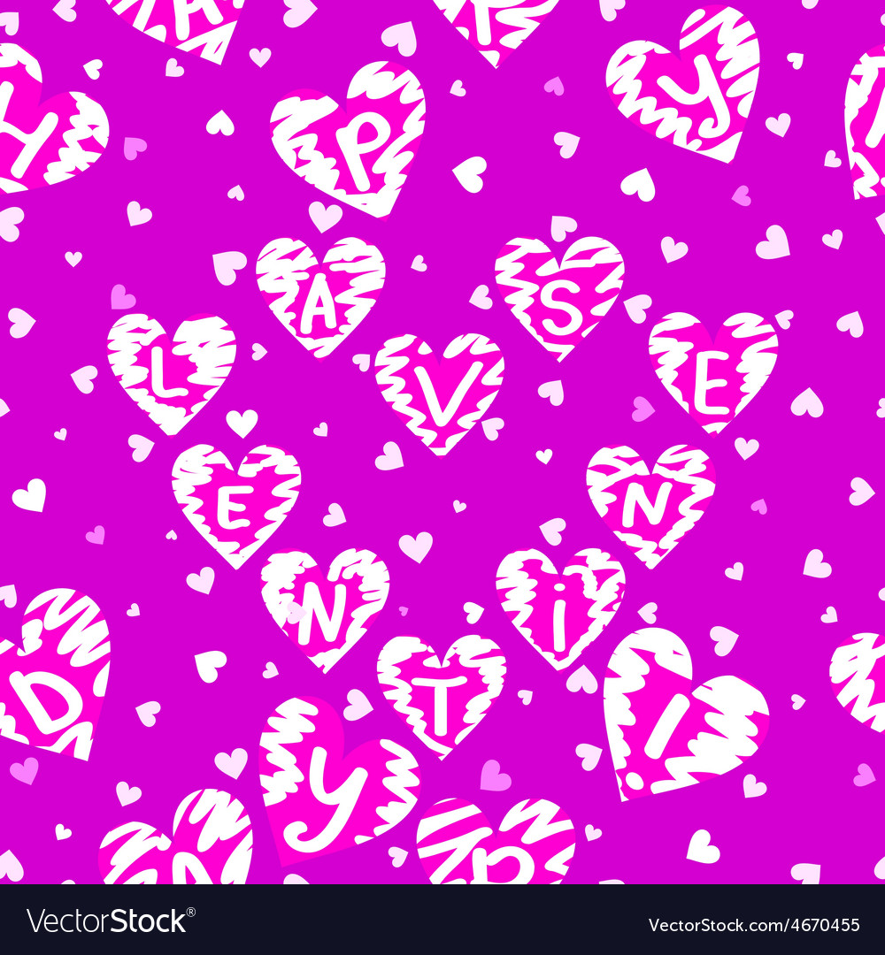 Texture of hearts vector | Price: 1 Credit (USD $1)