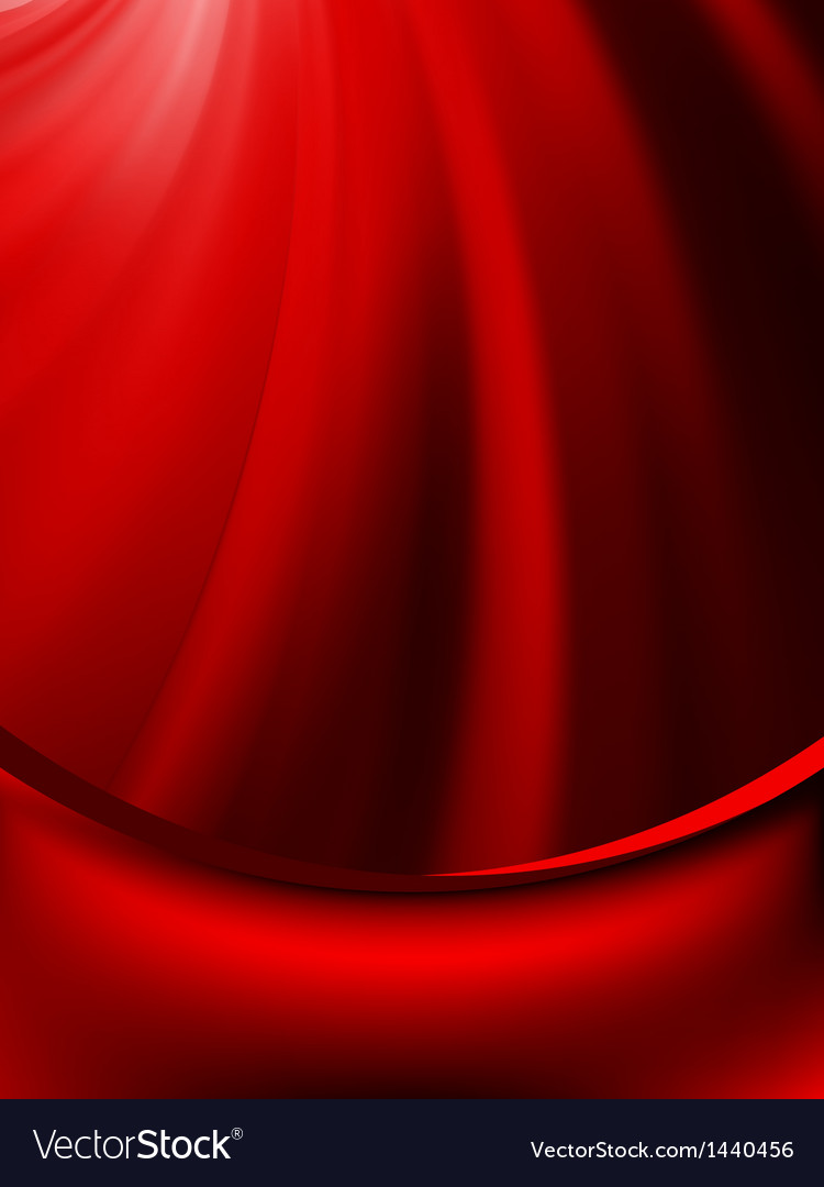 Red curtain fade to dark card eps 8 vector | Price: 1 Credit (USD $1)