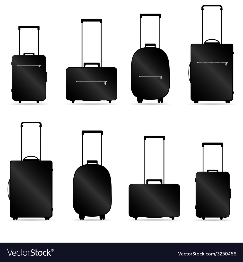 Traveling bag vector | Price: 1 Credit (USD $1)