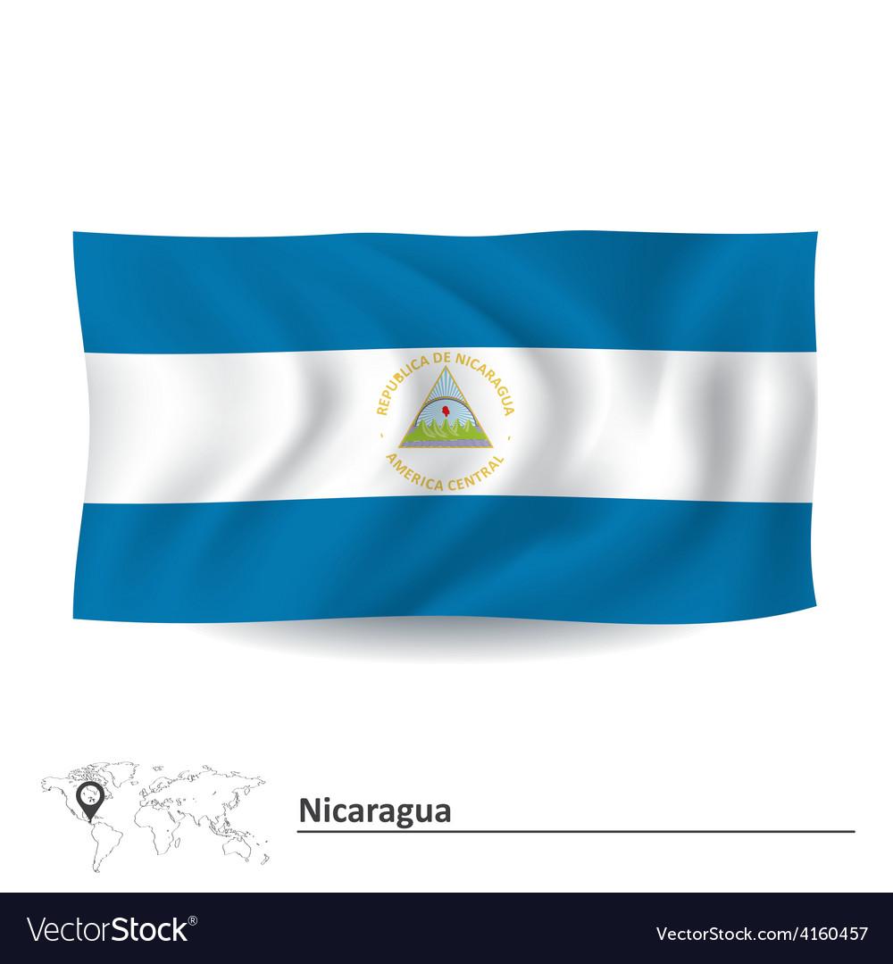 Flag of nicaragua vector   Price: 1 Credit (USD $1)