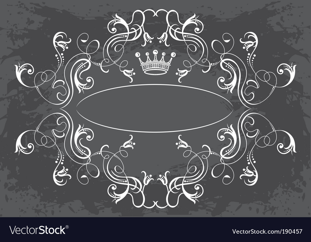 Royal frame vector | Price: 1 Credit (USD $1)