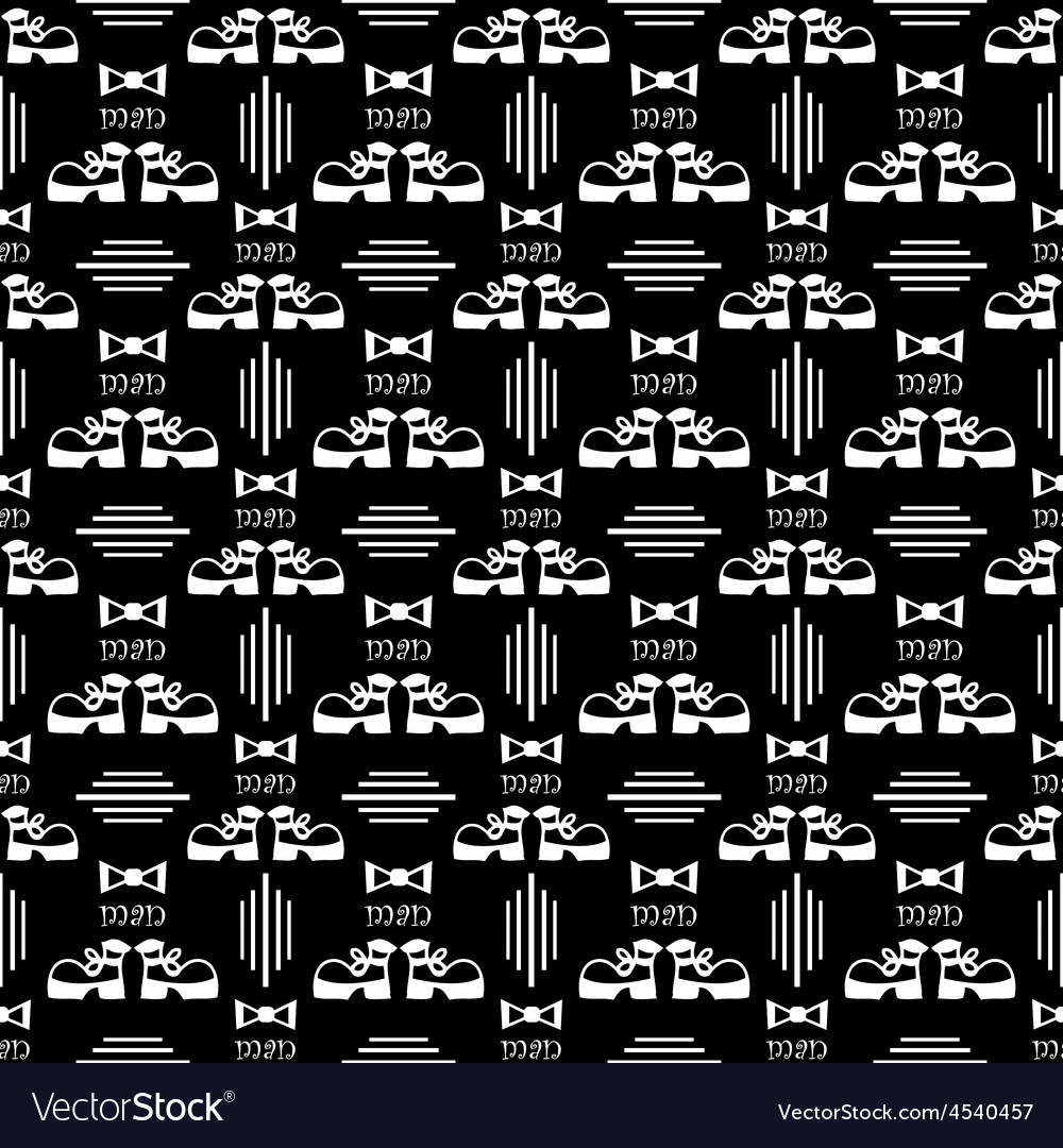 Seamless male pattern vector | Price: 1 Credit (USD $1)