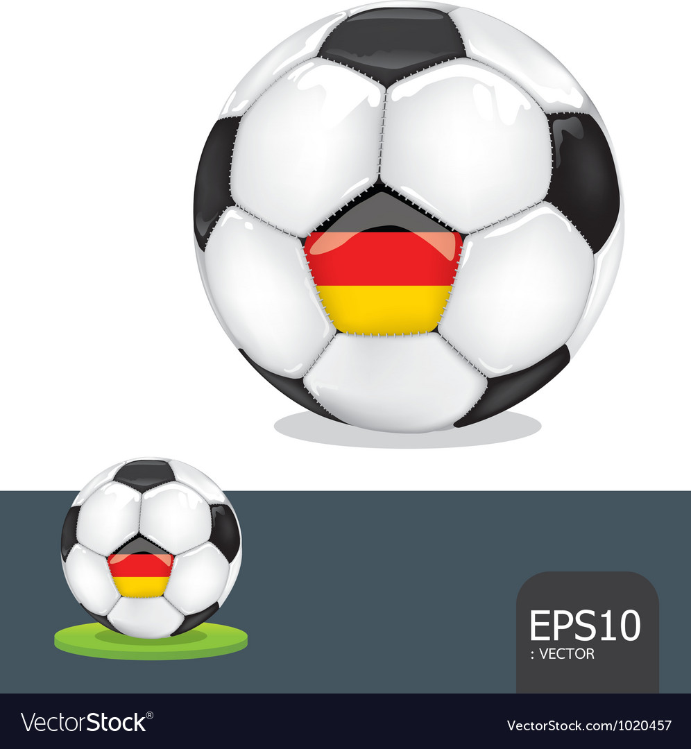 Soccer euro germany vector | Price: 1 Credit (USD $1)
