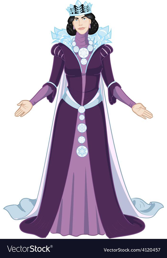 Winter queen beautiful female character vector   Price: 3 Credit (USD $3)