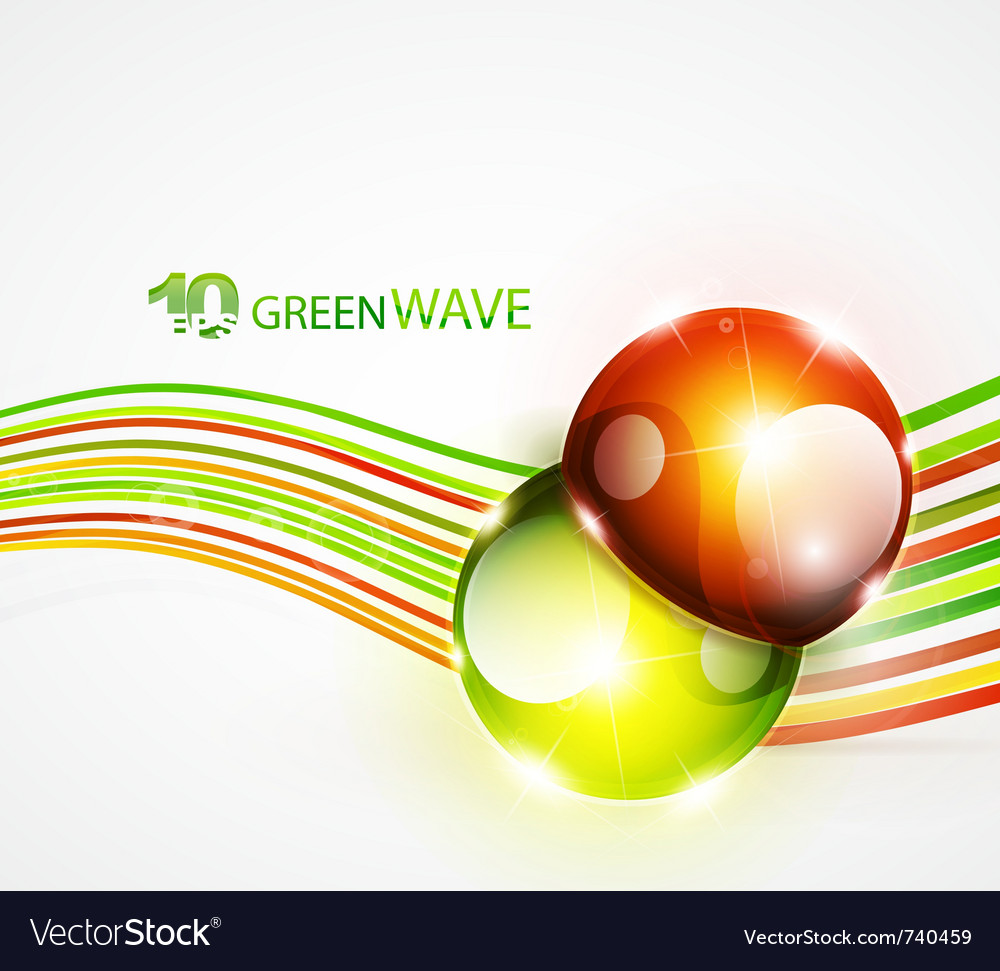 Abstract wavy lines vector | Price: 1 Credit (USD $1)