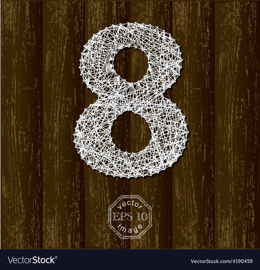 Number eight vector   Price: 1 Credit (USD $1)
