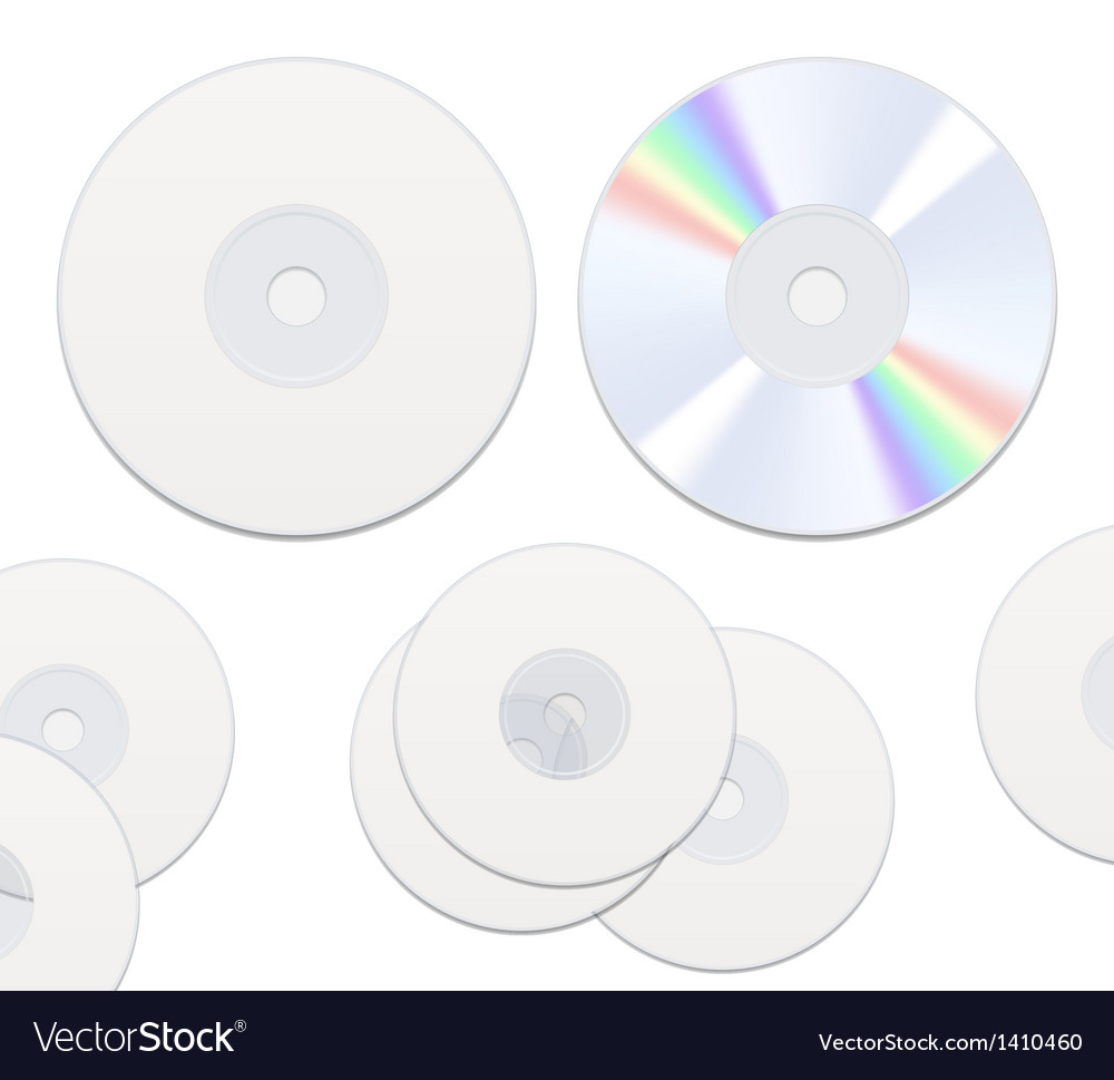 Dvd or cd disc vector | Price: 1 Credit (USD $1)