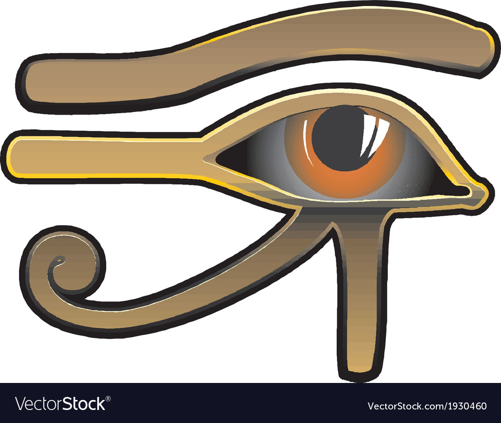 Egyptian eye vector | Price: 1 Credit (USD $1)