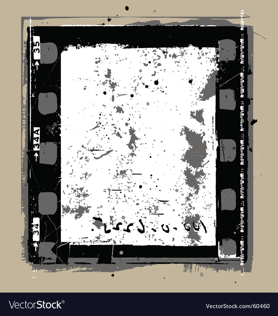 Grunge film elements vector | Price: 1 Credit (USD $1)