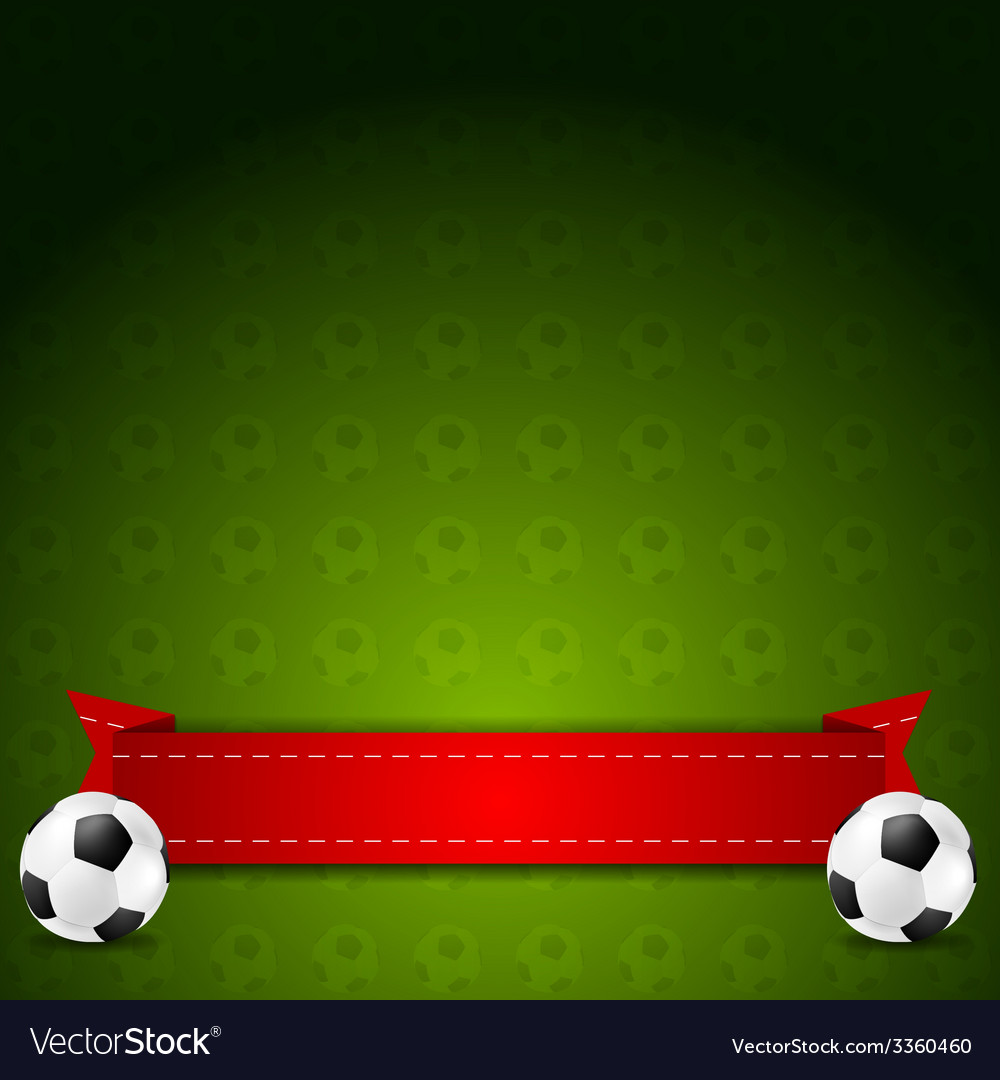 Soccer football background vector | Price: 1 Credit (USD $1)