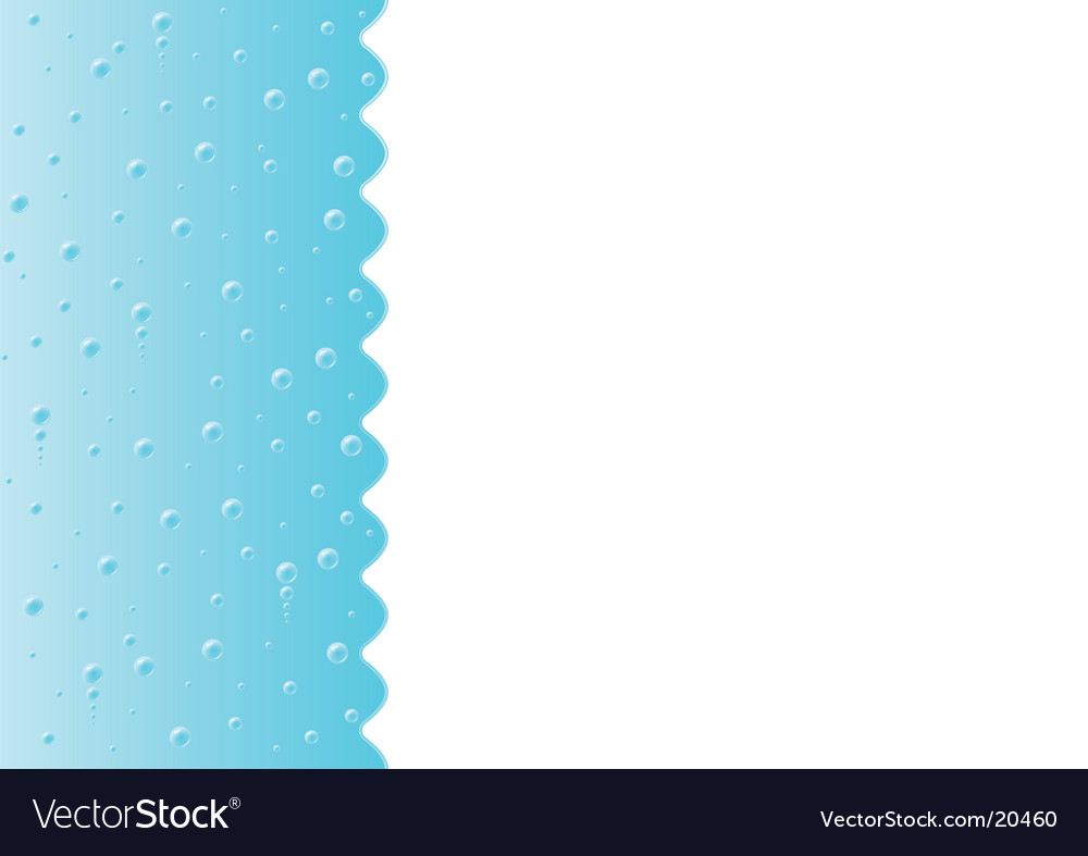 Water bubbles background vector | Price: 1 Credit (USD $1)