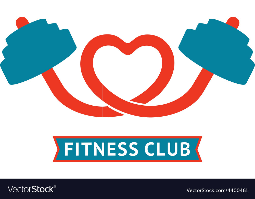Fitness club logotype vector | Price: 1 Credit (USD $1)