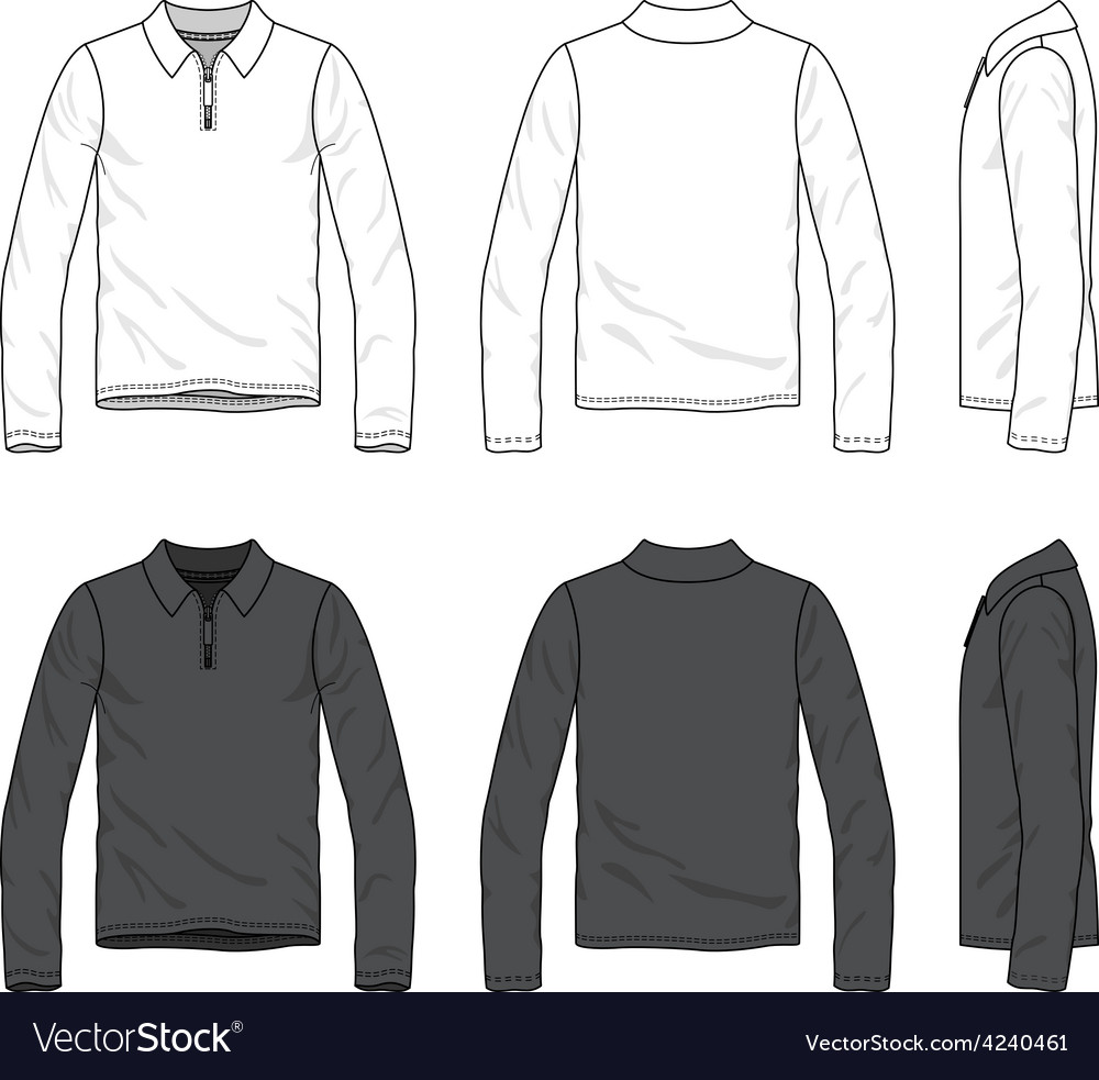 Polo tee vector | Price: 1 Credit (USD $1)
