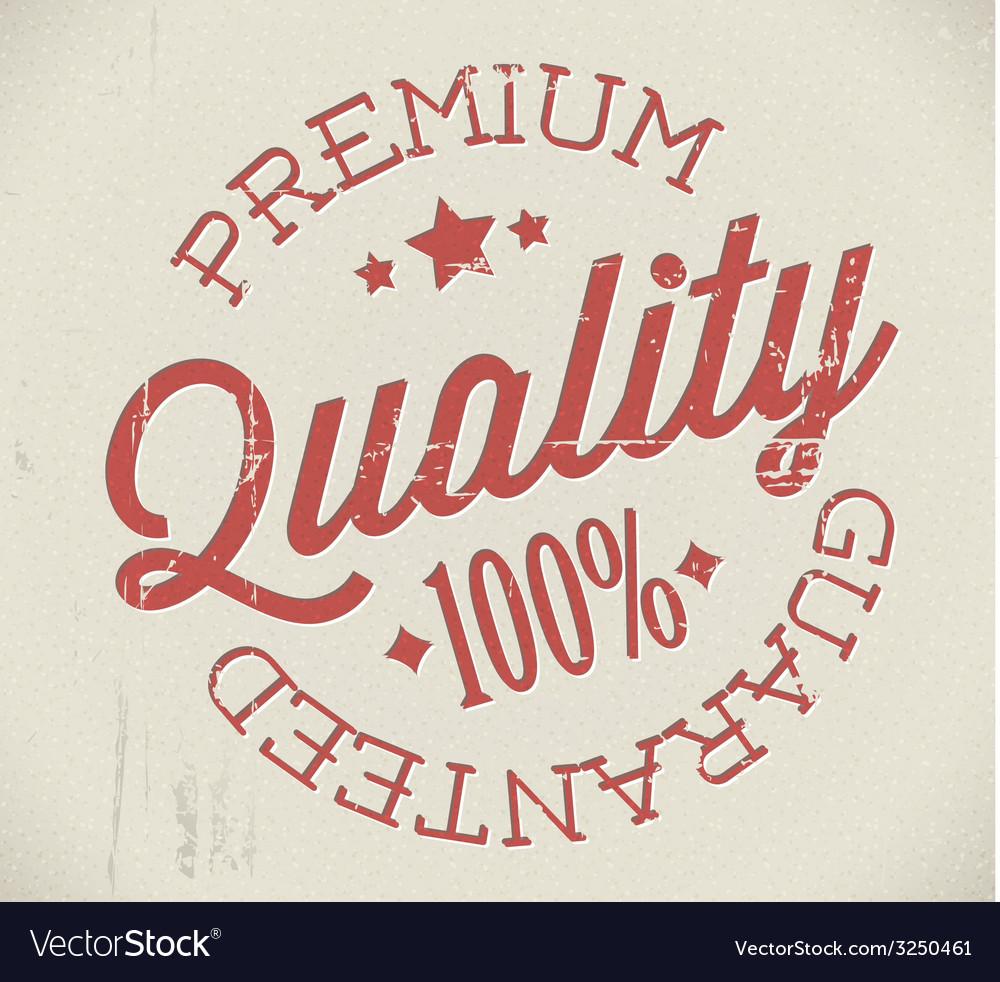 Retro premium quality stamp vector | Price: 1 Credit (USD $1)