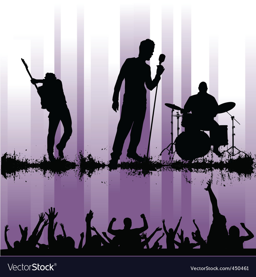Rock concert vector | Price: 1 Credit (USD $1)