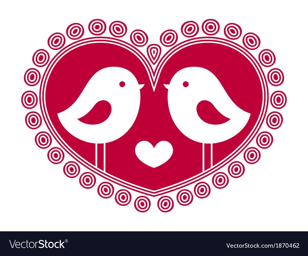 Birds in love vector   Price: 1 Credit (USD $1)