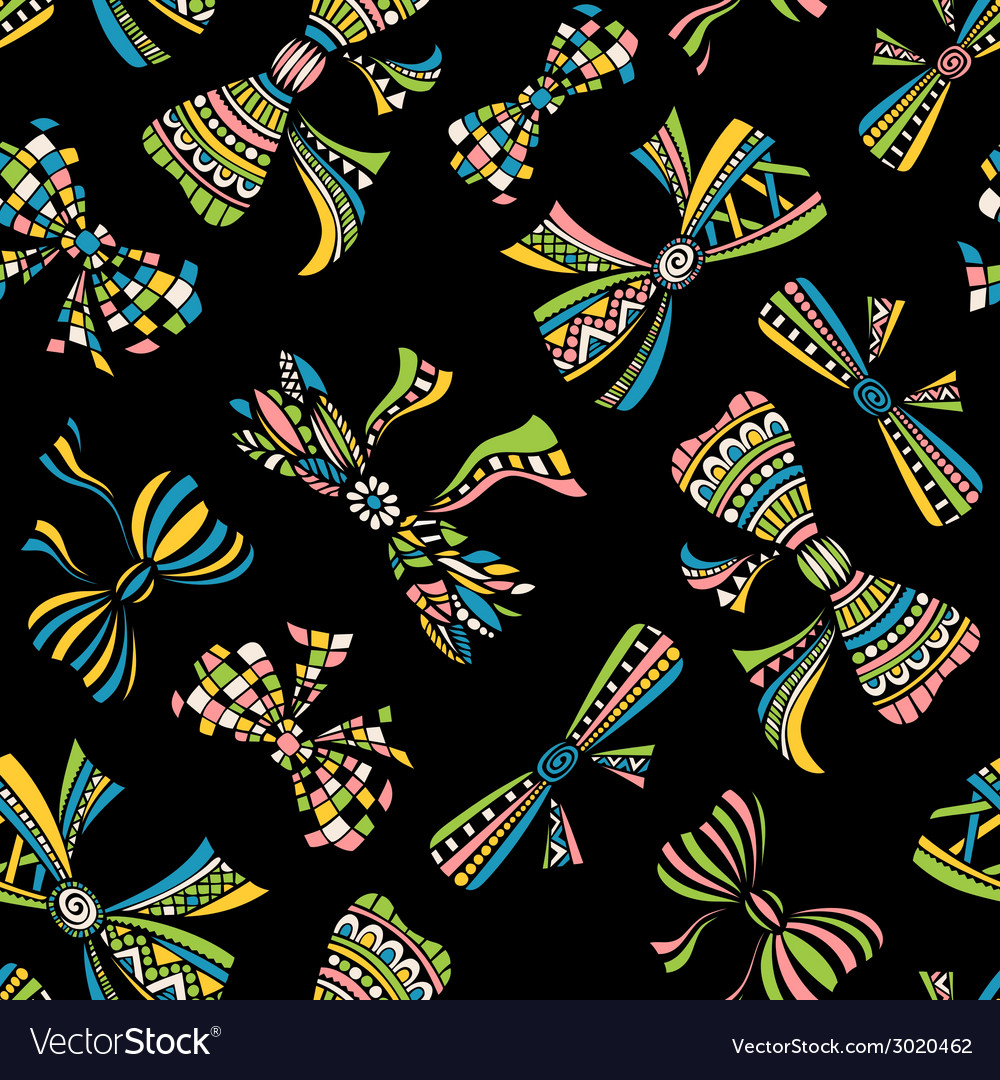 Ethnic seamless pattern vector | Price: 1 Credit (USD $1)