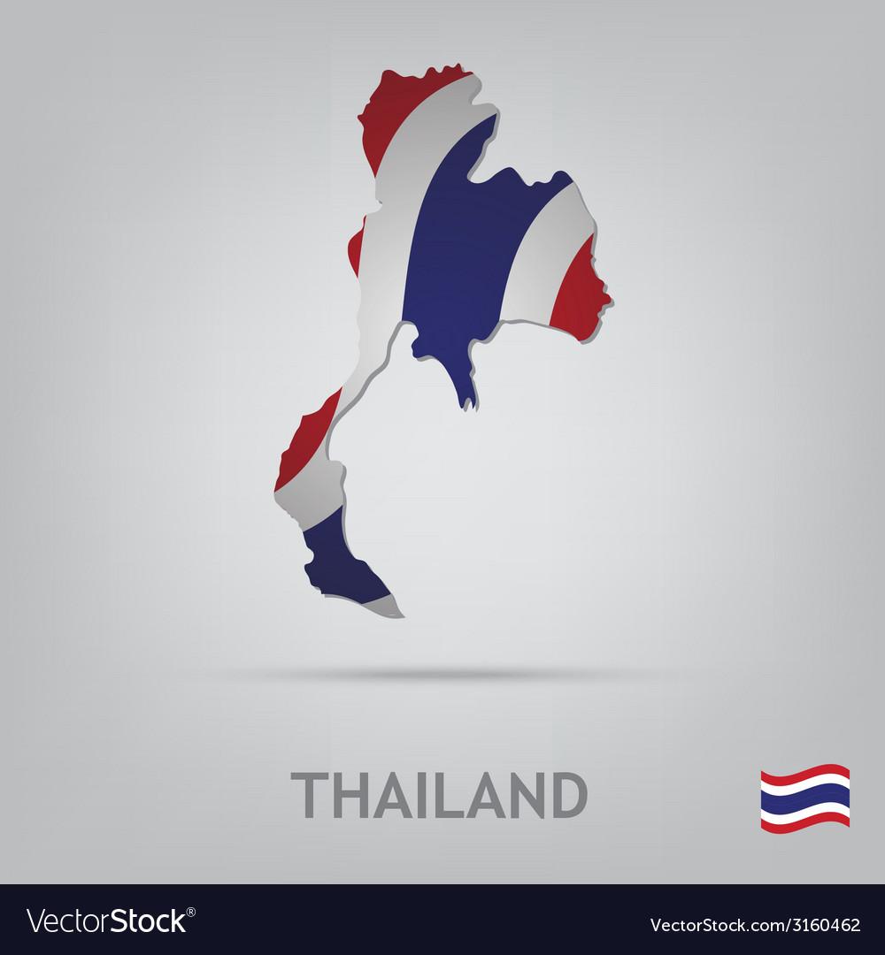 Thailand vector | Price: 1 Credit (USD $1)