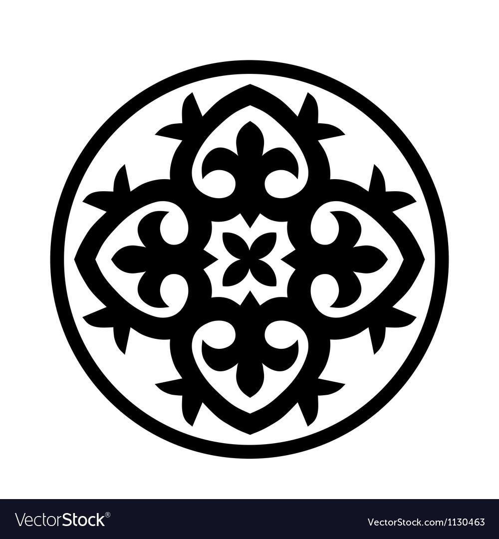 Circular ornament vector | Price: 1 Credit (USD $1)