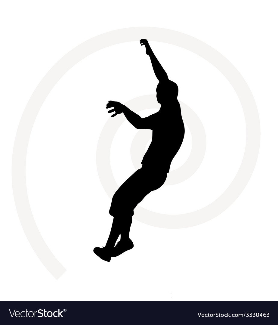 Senior climber man vector | Price: 1 Credit (USD $1)