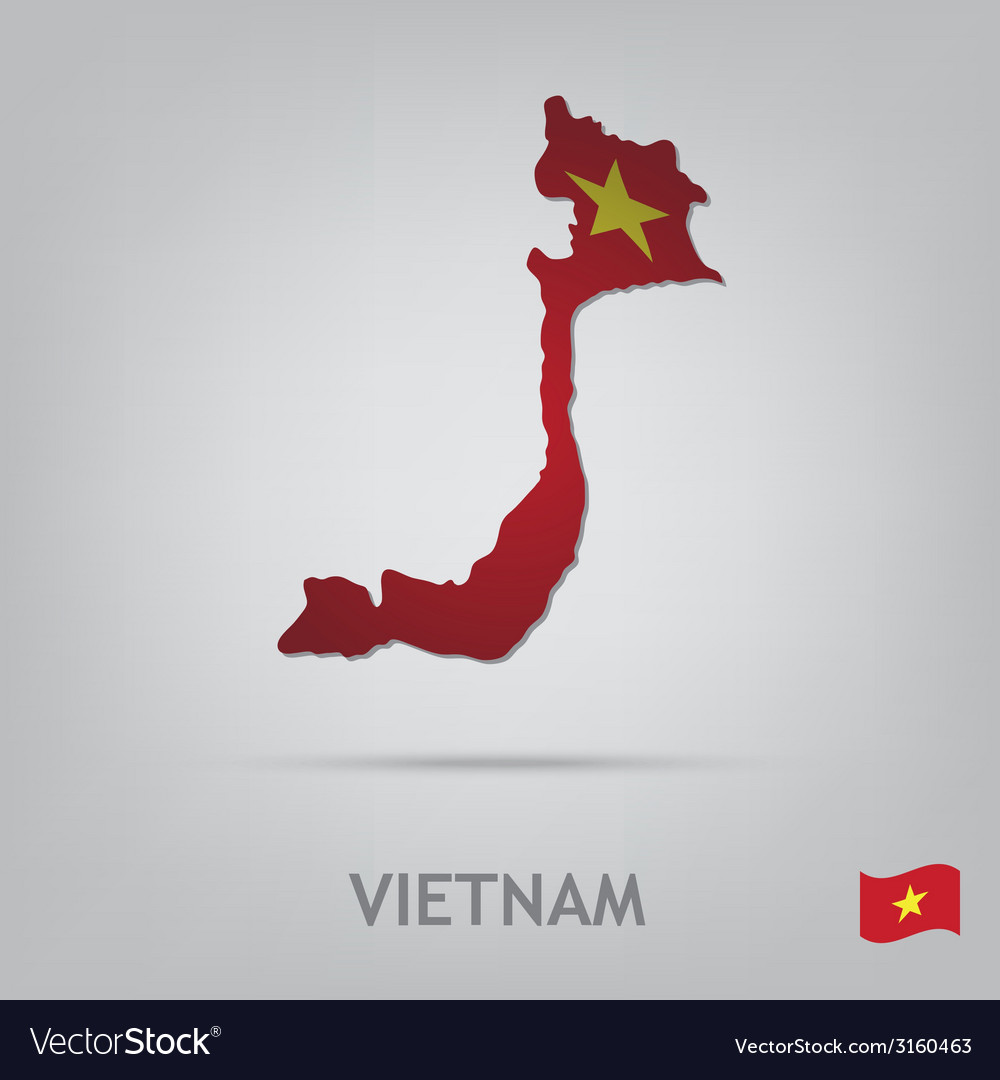 Vietnam vector | Price: 1 Credit (USD $1)