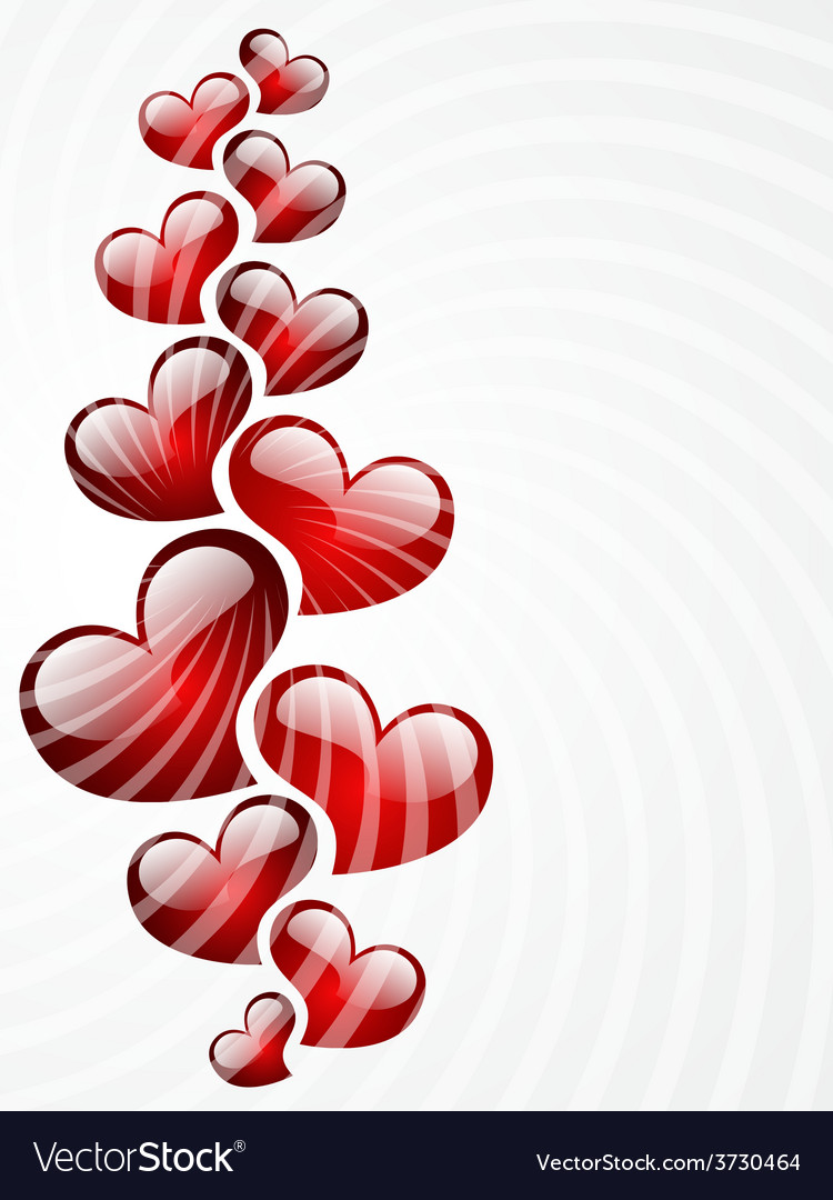 Background to the valentines day vector | Price: 1 Credit (USD $1)