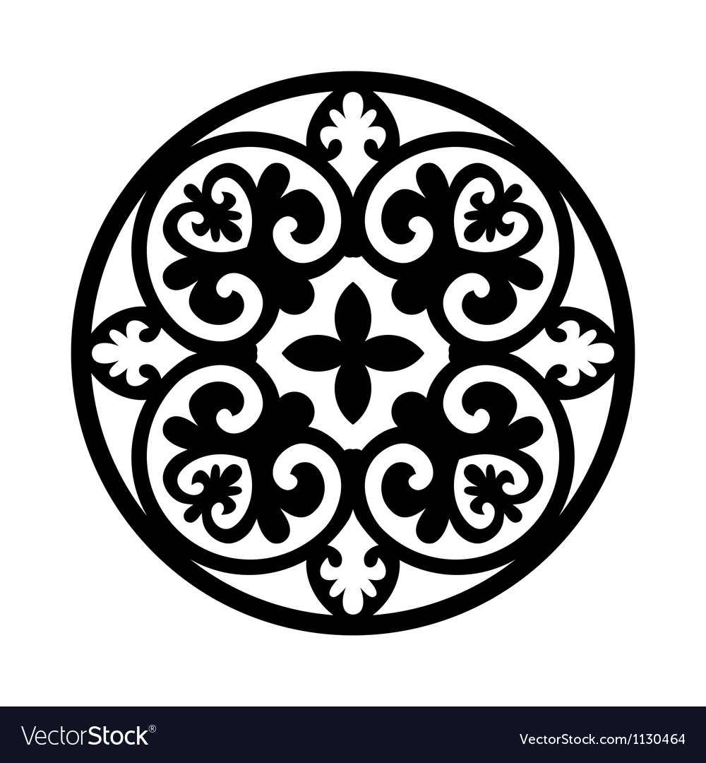 Circular ornament vector | Price: 1 Credit (USD $1)