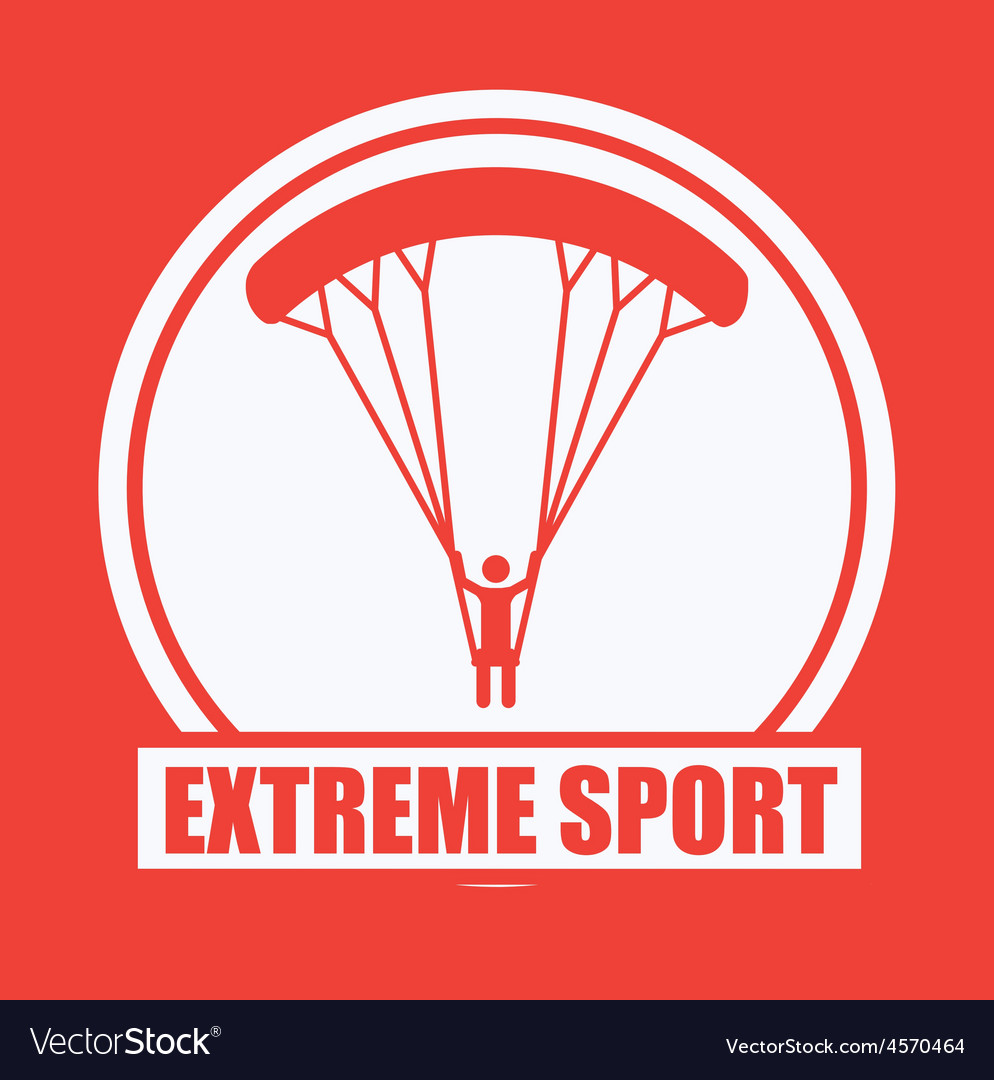 Extreme sport design vector | Price: 1 Credit (USD $1)