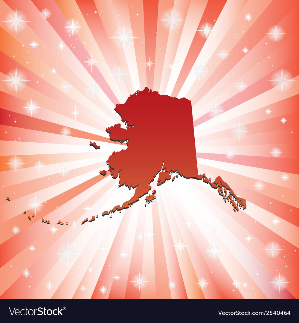 Red alaska vector | Price: 1 Credit (USD $1)