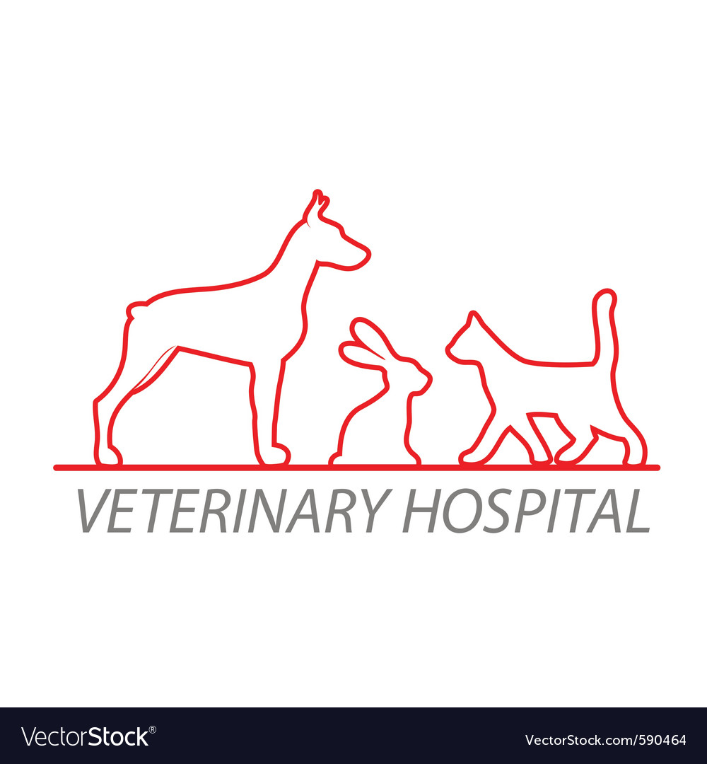 Veterinary hospital vector | Price: 1 Credit (USD $1)