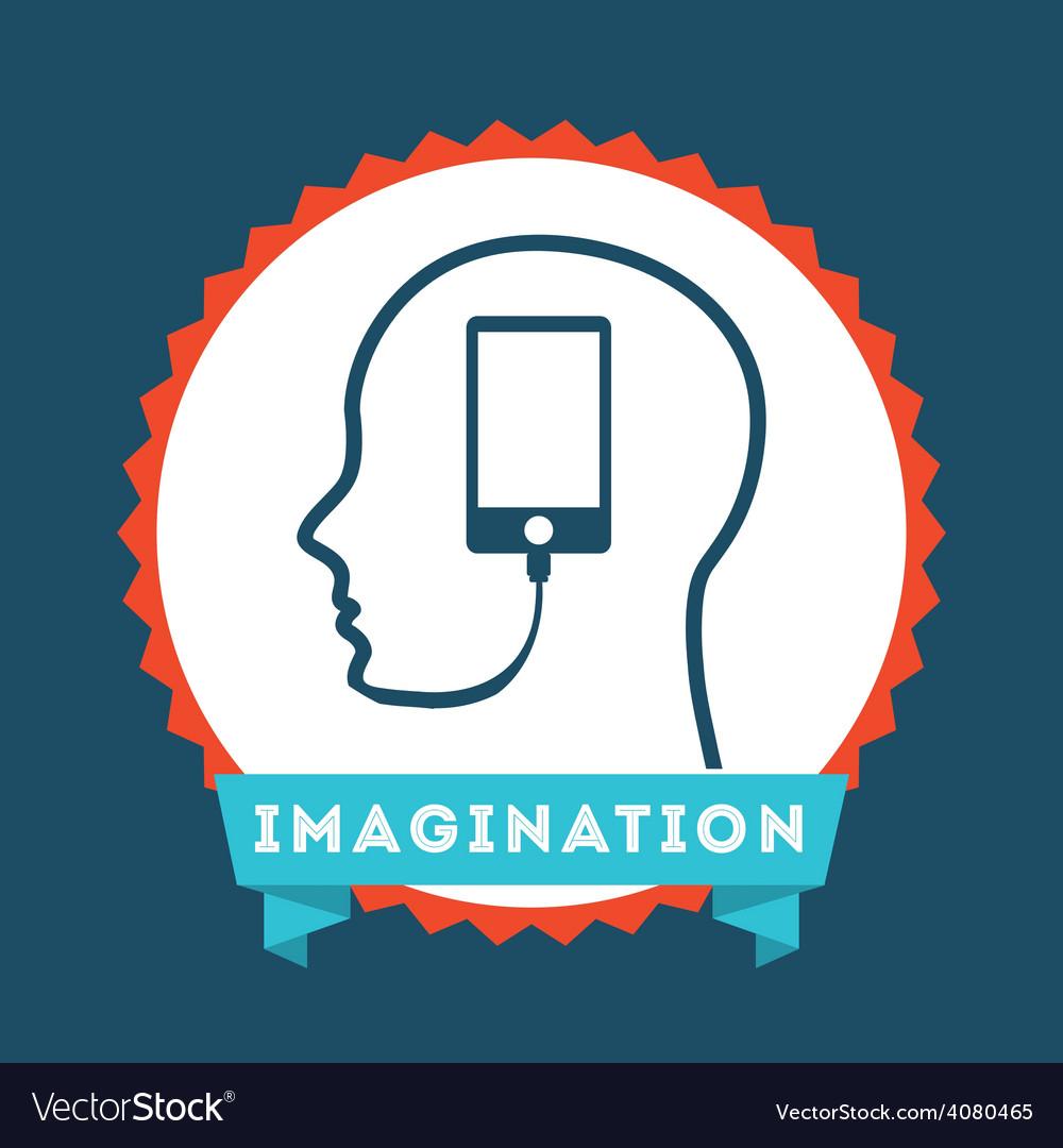 Imagination icon vector   Price: 1 Credit (USD $1)