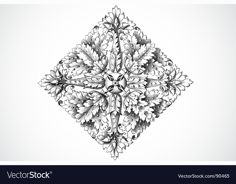 Seed ornament vector | Price: 1 Credit (USD $1)
