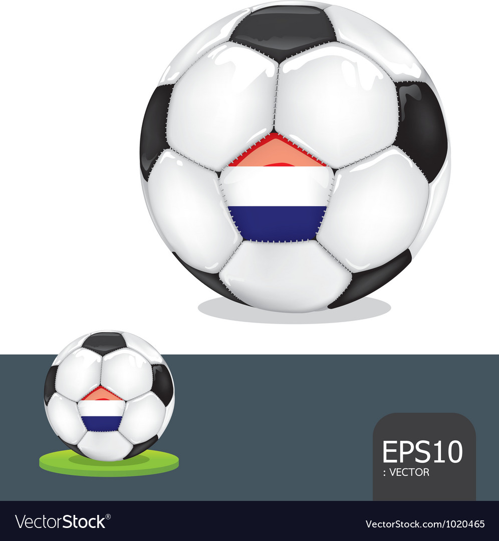 Soccer euro netherlands vector | Price: 1 Credit (USD $1)