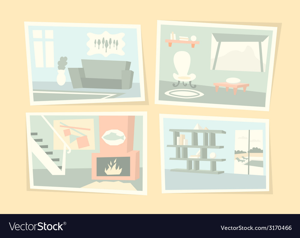 Home interior photos vector | Price: 1 Credit (USD $1)