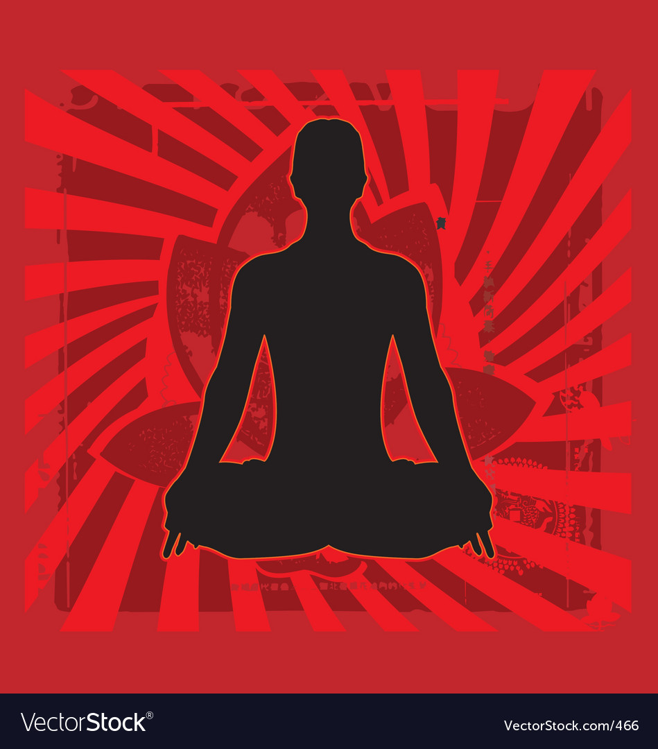 Yoga zen vector | Price: 1 Credit (USD $1)