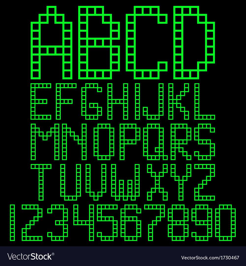 Alphabet blocks vector   Price: 1 Credit (USD $1)