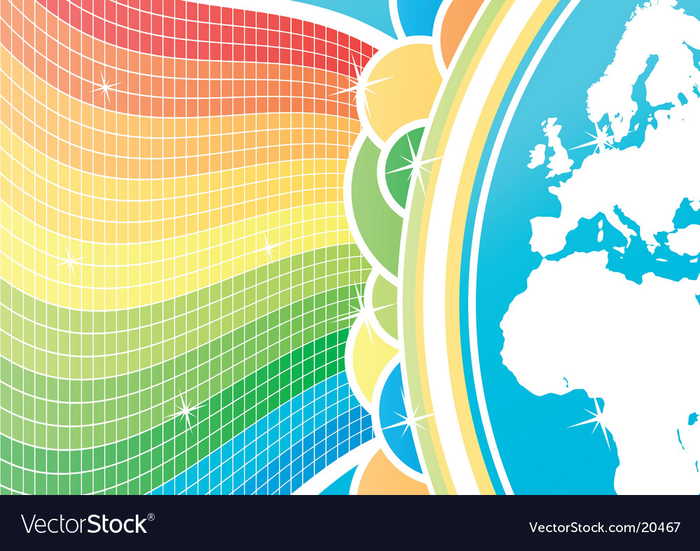 Global celebration background vector | Price: 1 Credit (USD $1)