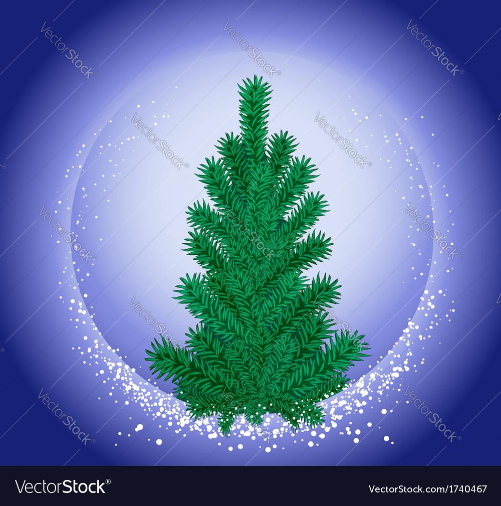 Hristmas tree vector | Price: 1 Credit (USD $1)
