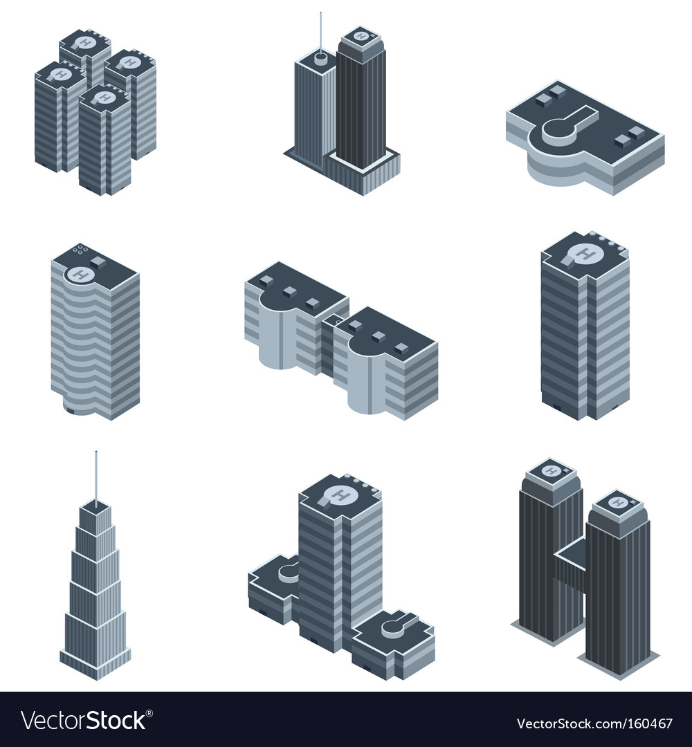 Modern building vector | Price: 1 Credit (USD $1)