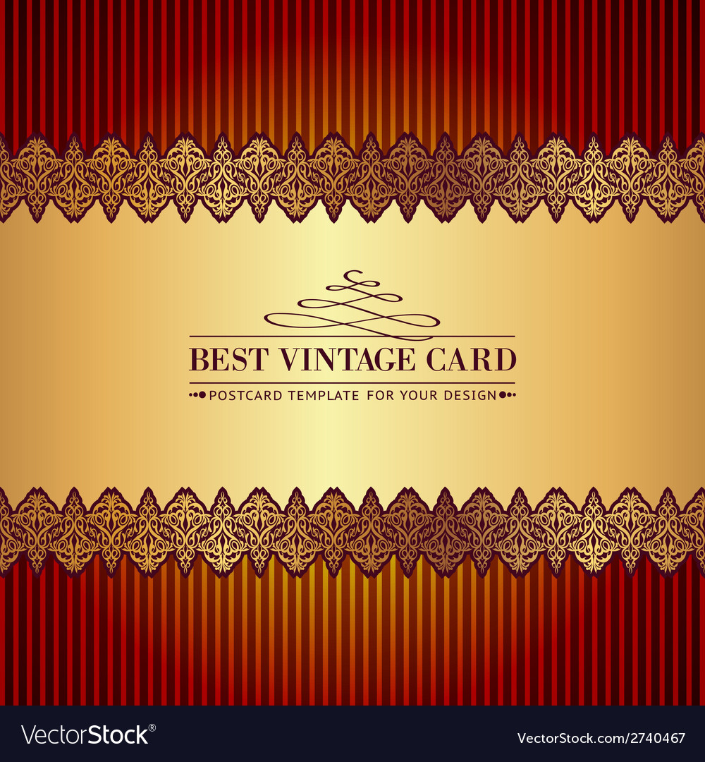 Vintage royal background vector | Price: 1 Credit (USD $1)